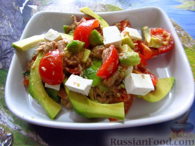 салат с тунцом и яйцом рецепт с фото пошагово