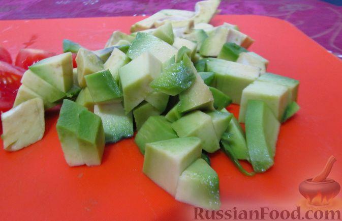 Салат из авокадо и тунца рецепт очень вкусный 118
