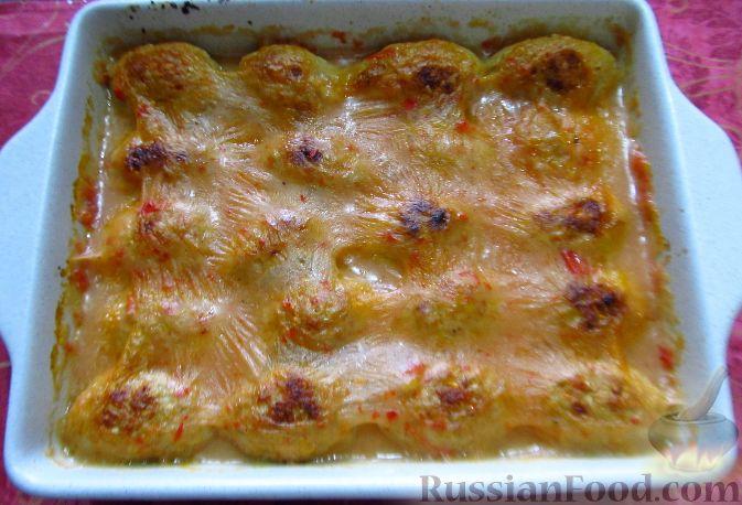 котлеты в духовке рецепт с овощами