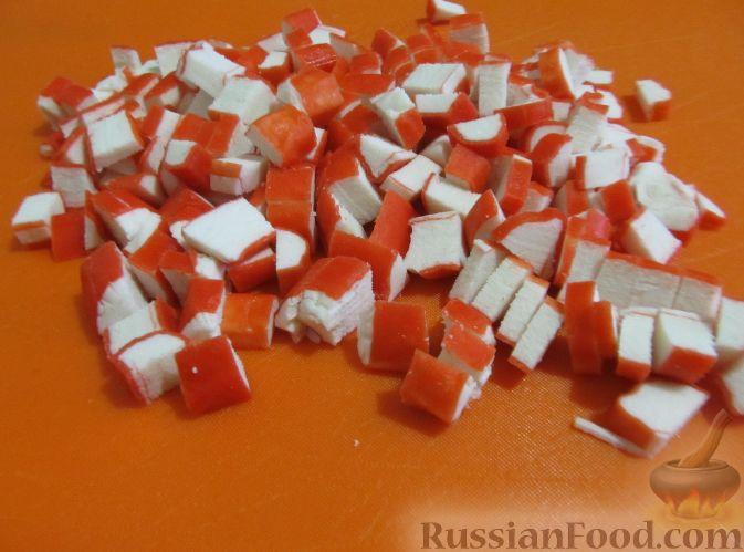 рецепт салата из крабовых палочек пекинской капусты