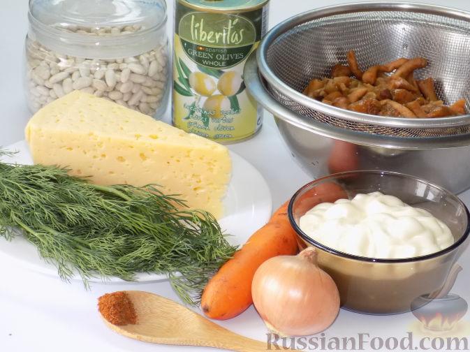 Салаты грибные 256 рецептов  фото рецепты  ГотовимРУ