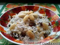 Фото к рецепту: Кутья из риса с миндалем и изюмом