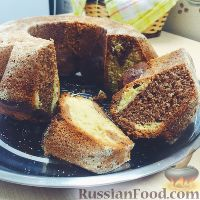 Фото к рецепту: Мраморный кекс