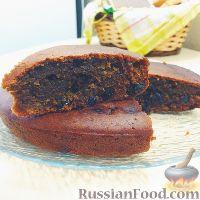 Фото к рецепту: Кофейно-медовый кекс