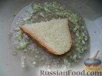Фото приготовления рецепта: Гренки с чесноком - шаг №5
