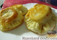 Фото к рецепту: Ажурные пирожки на дрожжах (жареные)