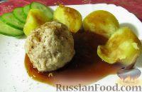 Фото к рецепту: Тефтели с картофелем на пару