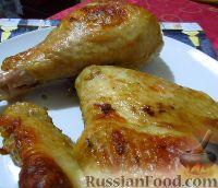 Фото к рецепту: Индейка, запеченная в горчичном маринаде