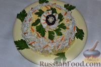 Фото к рецепту: Салат с курицей и картошкой