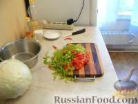 """Фото приготовления рецепта: Салат из капусты """"Витаминный"""" - шаг №3"""