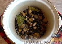 Фото приготовления рецепта: Быстрые маринованные грибы - шаг №11