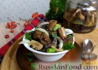 Фото приготовления рецепта: Быстрые маринованные грибы - шаг №13