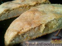 Фото к рецепту: Пирог с сырой картошкой