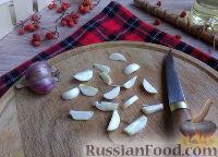 Фото приготовления рецепта: Быстрые маринованные грибы - шаг №7