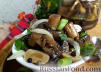 Фото к рецепту: Быстрые маринованные грибы