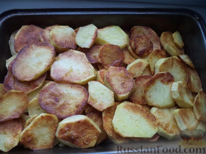 Мусака из картофеля рецепт с пошагово