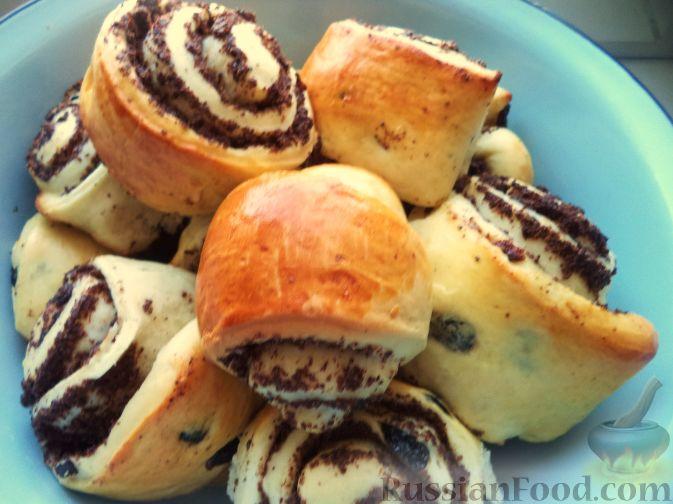 сладкие булочки к чаю с ванилином рецепт