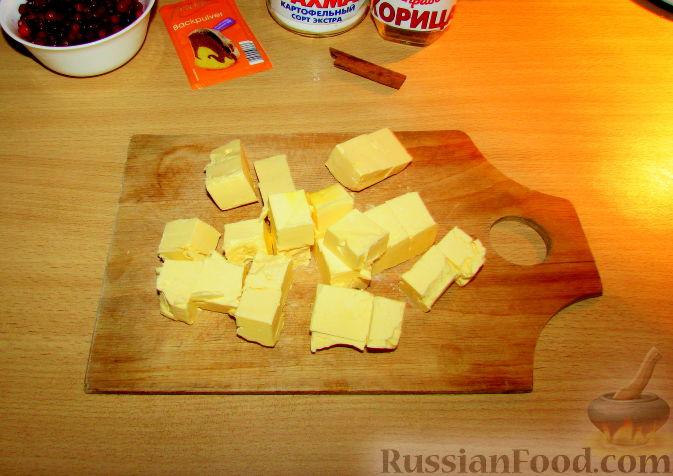 """Фото приготовления рецепта: Печенье """"Брусничка"""" - шаг №3"""