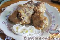 Фото к рецепту: Фрикасе из кролика со сливками