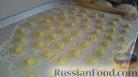 Фото приготовления рецепта: Домашние вареники с картошкой и кислой капустой - шаг №7