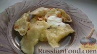 Фото приготовления рецепта: Домашние вареники с картошкой и кислой капустой - шаг №23