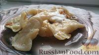 Фото приготовления рецепта: Домашние вареники с картошкой и кислой капустой - шаг №25