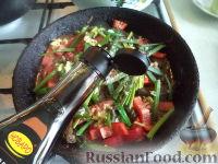 Фото приготовления рецепта: Поджарка из говяжьей печени - шаг №11