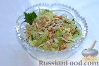 Фото к рецепту: Салат из пекинской капусты с арахисом