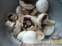 Фото приготовления рецепта: Маринованные шампиньоны - шаг №2