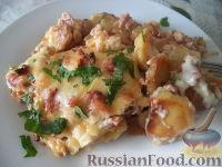 Фото к рецепту: Мусака с картофелем