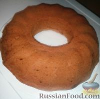 Фото к рецепту: Молочный кекс без яиц