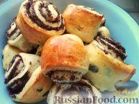 Фото к рецепту: Сдобные булочки с маком