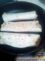 Фото к рецепту: А-ля такос с фасолью и соусом
