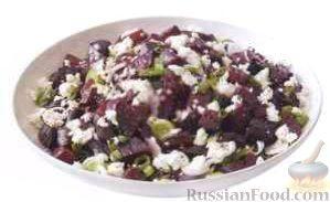 салат из свеклы с луком рецепты с фото