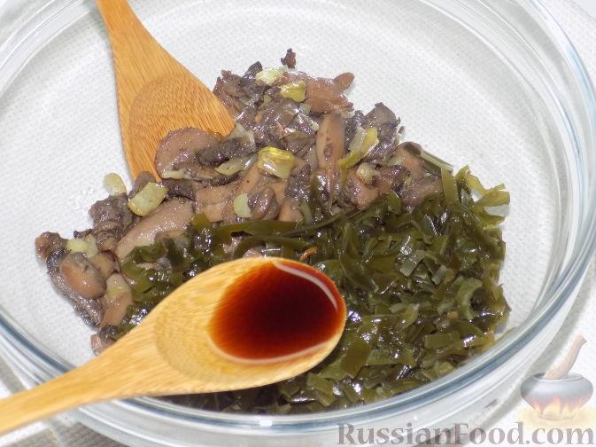 рецепты салатов с морской капустой и сыром