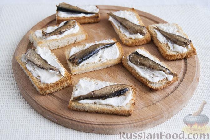 шпроты бутерброды рецепты с фото простые и вкусные