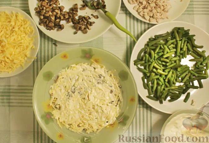 рецепт салата с сыром и куриной грудкой и