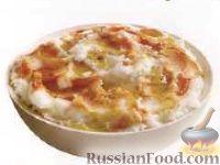 Фото к рецепту: Картофельное пюре с болгарским перцем