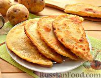 Фото к рецепту: Чебуреки с картошкой