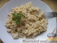 Фото к рецепту: Клецки (галушки)