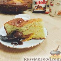 Фото к рецепту: Кефирный пирог с мандаринами