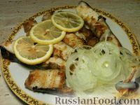 Фото к рецепту: Жареный сом по-волжски