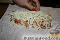 Фото приготовления рецепта: Шаурма по-домашнему - шаг №25