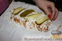 Фото приготовления рецепта: Шаурма по-домашнему - шаг №26