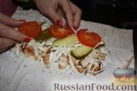 Фото приготовления рецепта: Шаурма по-домашнему - шаг №27