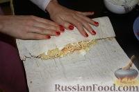 Фото приготовления рецепта: Шаурма по-домашнему - шаг №31
