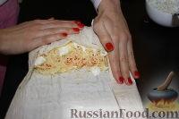 Фото приготовления рецепта: Шаурма по-домашнему - шаг №32