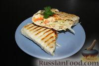 Фото приготовления рецепта: Шаурма по-домашнему - шаг №35