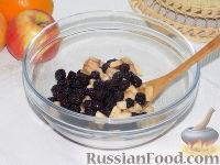 Фото приготовления рецепта: Фруктовый салат с шоколадом и взбитыми сливками - шаг №3