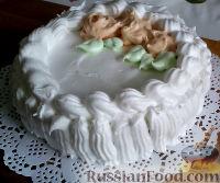 Фото к рецепту: Праздничный торт